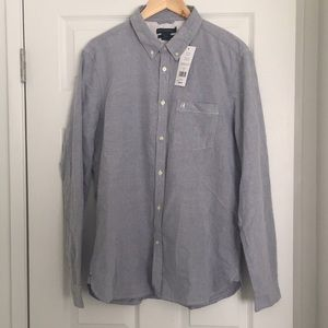 French Connection Brushed Oxford Slim Shirt